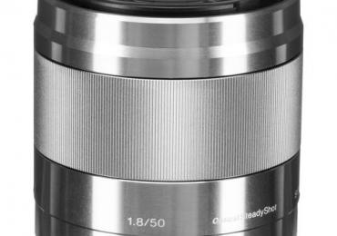SONY E 50MM F1.8 OSS (SEL50F18/S) (SILVER)